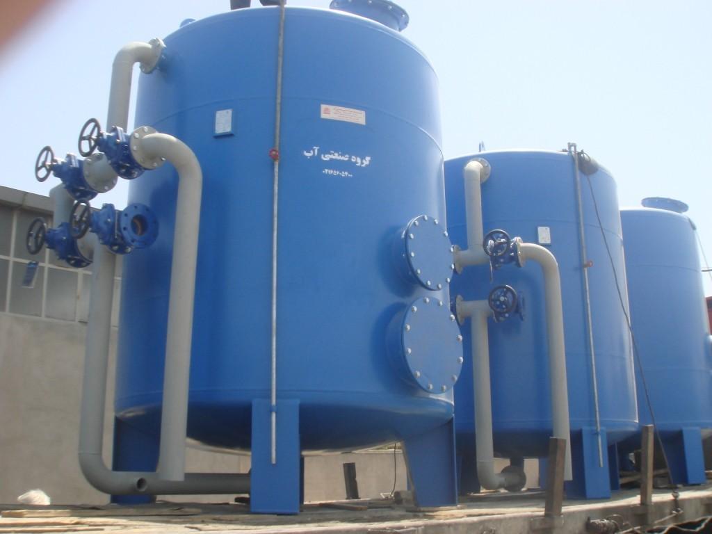 فیلتر کربن اکتیو,فیلتر کربن اکتیو تحت فشار,تصفیه آب
