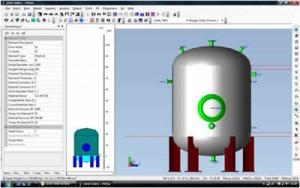 نرم افزار طراحی مخازن تحت فشار و تحلیل مخازن تحت فشار